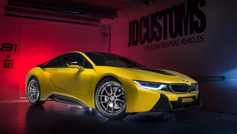 bmw i8 gold bmw i8 in frozen yellow