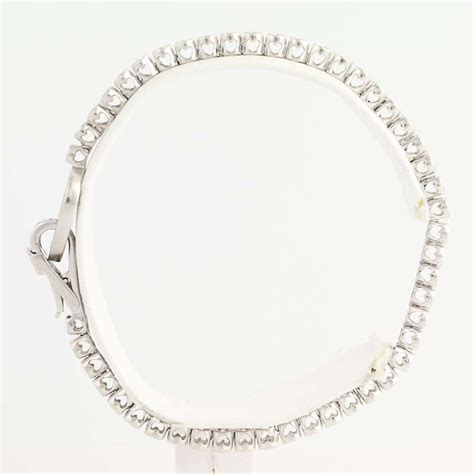 Tennis Bracelets A Dazzling Gift For The To Be by Tennis Bracelet 7 Quot 14k White Gold
