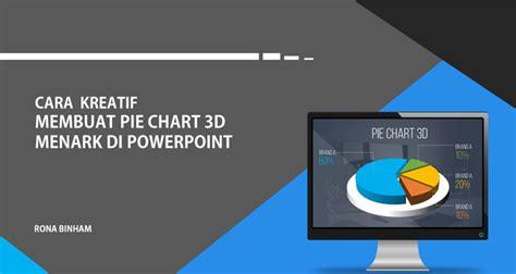 cara membuat power point kreatif cara kreatif membuat grafik kue 3d menarik di powerpoint