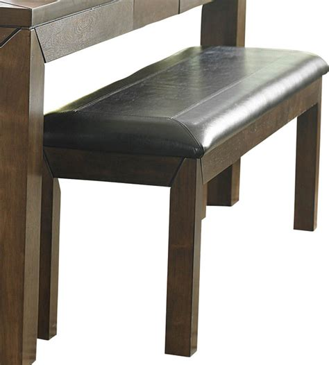 60 Inch Upholstered Bench Homelegance Eagleville 60 Inch Upholstered Bench In Brown