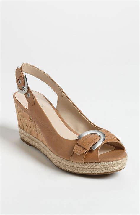 franco sarto sandal franco sarto kendra sandal nordstrom exclusive in brown lyst