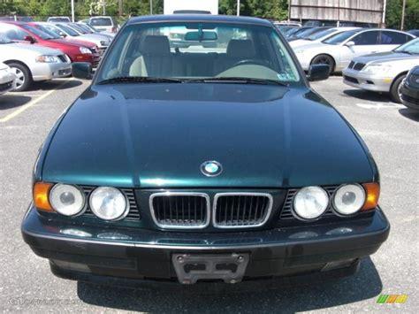 1995 boston green metallic bmw 5 series 525i sedan