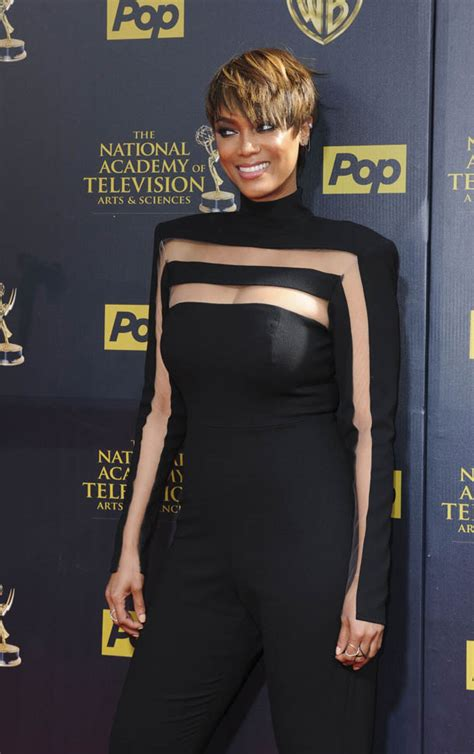 tyra banks just got a super short and super pretty pixie tyra banks gossip latest news photos and video