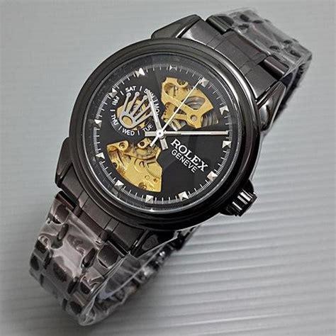 Harga Merk Jam Tangan Rolex jual jam tangan merk rolex skeleton geneve untuk pria