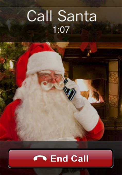 call santa call santa app for iphone entertainment