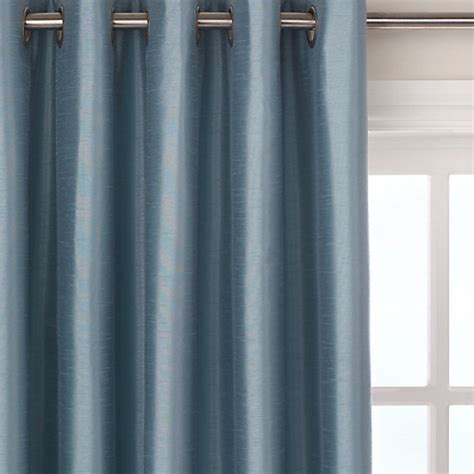 john lewis curtains blackout buy john lewis faux silk blackout lined eyelet curtains