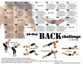 30 day back challenge by jodi higgs challenges tribesports