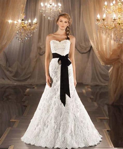 imagenes de vestidos de novia negro 15 elegantes vestidos de novia en colores blanco y negro