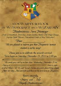 harry potter invitation template harry potter baby shower invitations theruntime