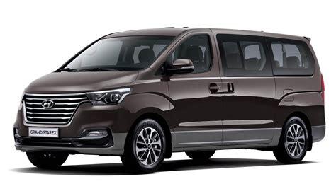van hyundai 2018 welcomes hyundai s facelifted grand starex 12 seater