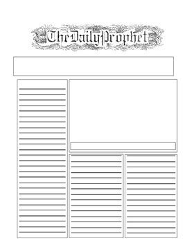 the daily prophet template by candace ng teachers pay