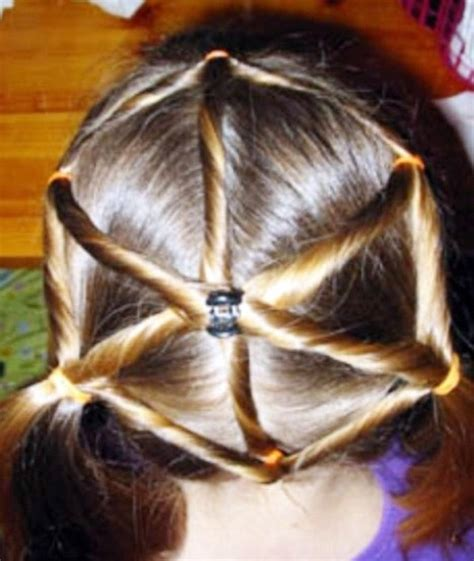 spider web hairstyle elastic style for hair spiderweb hairstyle behairstyles