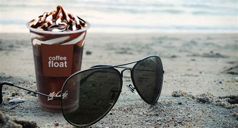 Coffee Float Di Mcd a treat for summers coffee and chocolate in