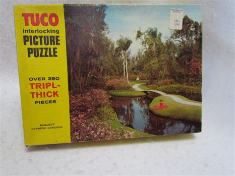 vintage tuco jigsaw puzzle  sale classifieds