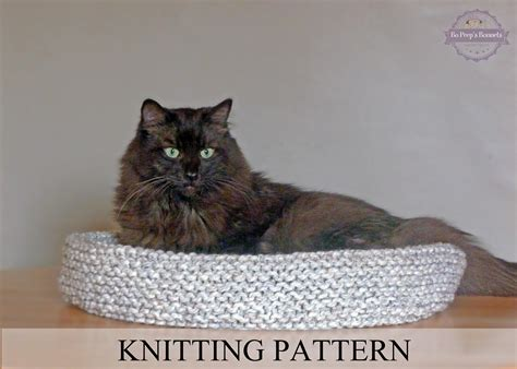 knit cat bed pattern cat bed knitting pattern knitted cat bed tutorial diy cat