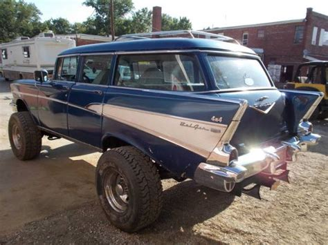 4x4 station wagon 1957 chevrolet bel air station wagon 4x4 station wagon
