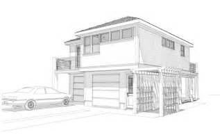 3d House Sketch house sketch carriage house rendering jpg