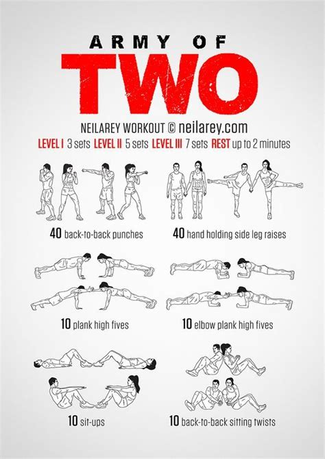 25 best ideas about couples workout routine on