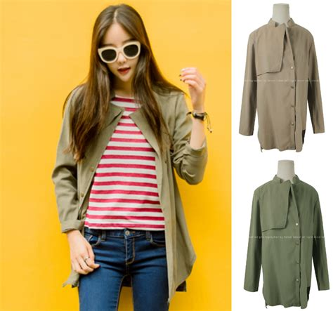 Outerwear Outer Cardigan cardigan jacket outerwear outer beige green khaki autumn fall jumper stylish office casual