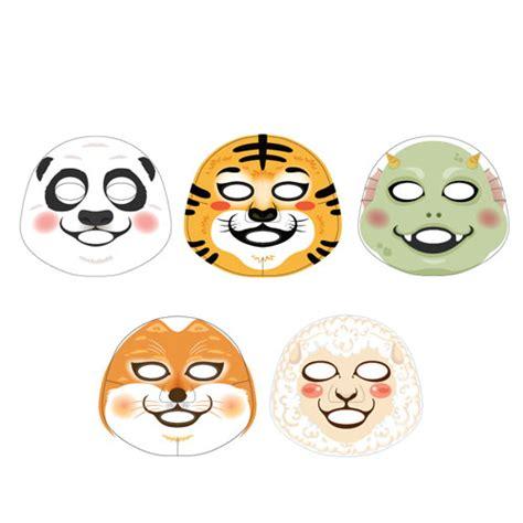 Masker The Faceshop Character Mask Sheet Pig Honey The Shop the shop animal character mask 2 sheet animal mask ebay