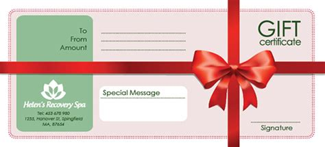 free holiday gift certificate templates in psd and ai on