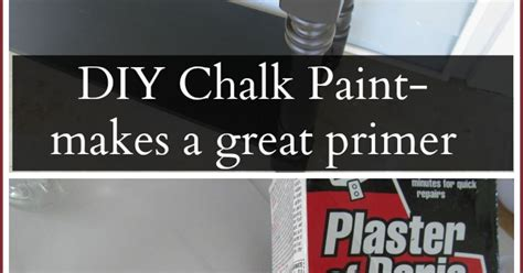 diy chalk paint with primer use your diy chalky paint as a primer hometalk