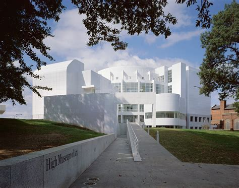 high museum of architect magazine richard meier