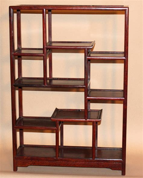 vintage chinese rosewood table top display shelf at 1stdibs