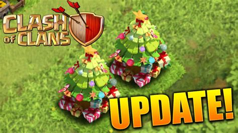 in coc xmas tree in 2016 clash of clans update available with new modes and upgrades neurogadget