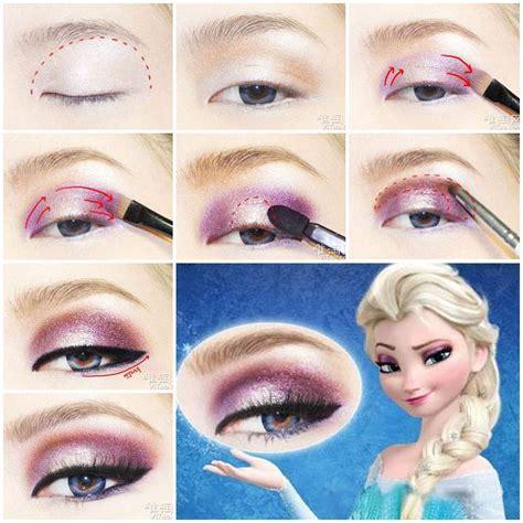 diy disneys frozen elsa eyeshadow