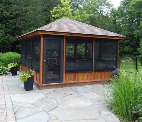 enclosed gazebo plans for enclosed gazebos garden
