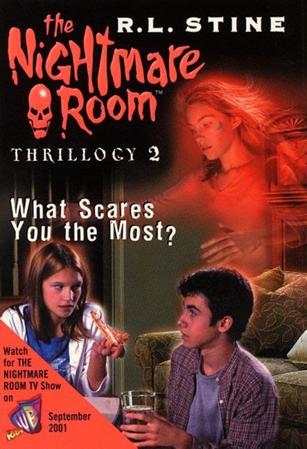 The Nightmare By Rl Stine the nightmare room what scares you the most by r l
