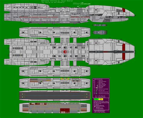 battlestar galactica floor plan battlestar achilles by xraiderv1 on deviantart