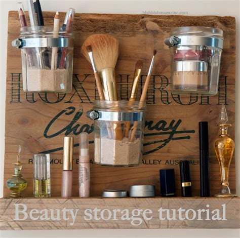 Acrylic Tempat Palette 20 clever makeup organizers storage ideas for small