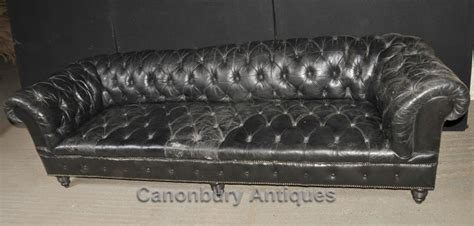 deep chesterfield sofa xl antique chesterfield sofa couch deep button leather