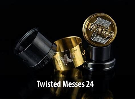 Authentic Twisted Messes Rda 22 Lite Blue flavor chaser ini dia top 5 best flavor rda vapeku