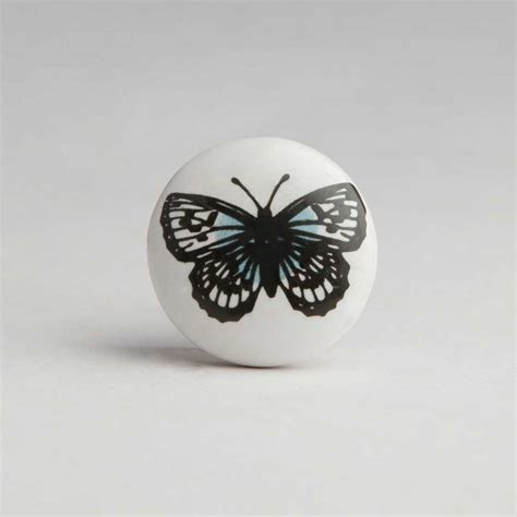 Butterfly Door Knobs by Butterfly Ceramic Door Knob