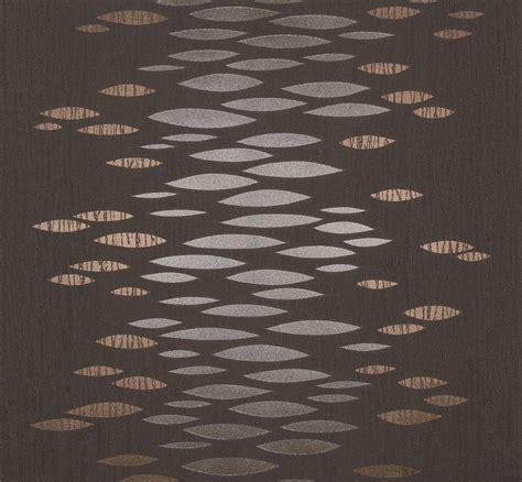 Vliestapete Modern by Vliestapete Design Modern Grau Bronze Metallic Tapete