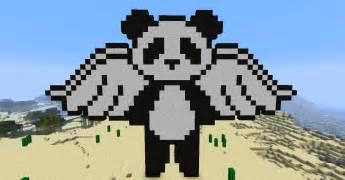 panda pixel template panda version 1 by bakahentai90 on deviantart