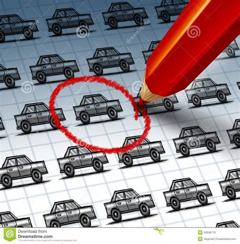 Car Insurance Search by Car Shopping Stock Illustration Image Of Crowd Auto