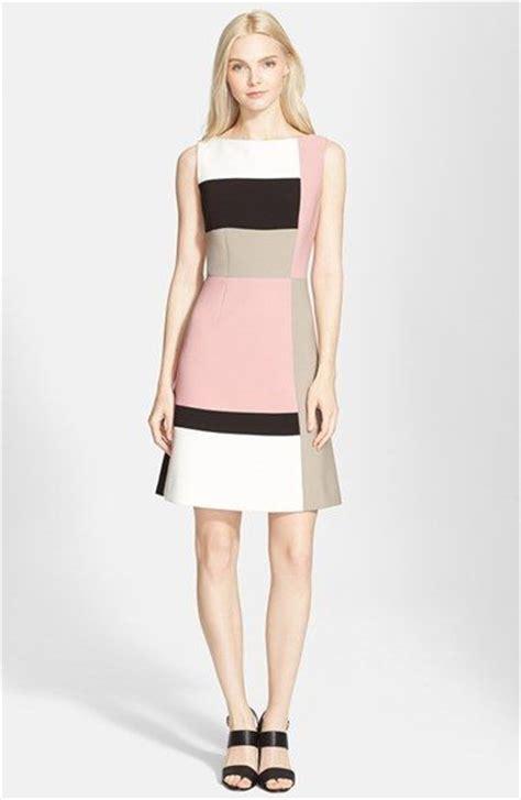 color block dress pastel color block dress summer styling ideas