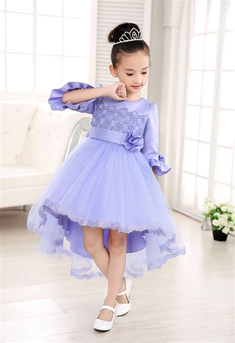 Dress Kid Bungashan 3 aliexpress buy 2017 children prom dresses front back applique lace dress