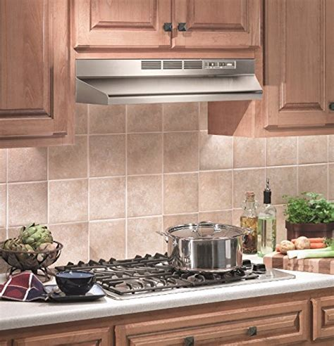 30 inch under cabinet range hood black broan 413004 ada capable non ducted under cabinet range