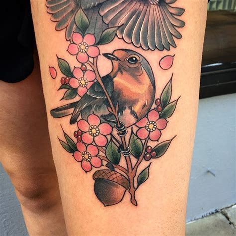 finch tattoo 25 best ideas about robin bird tattoos on
