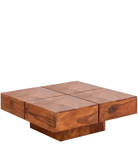 Low Wooden Coffee Table Item Overview