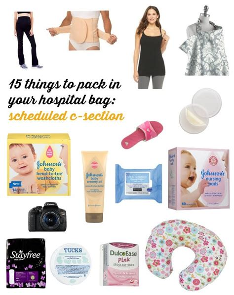 c section packing list what to pack for a scheduled c section babycenter blog