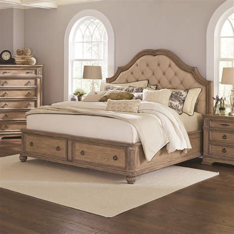 eastern king headboards ilana collection 205070ke eastern king bed with a deep
