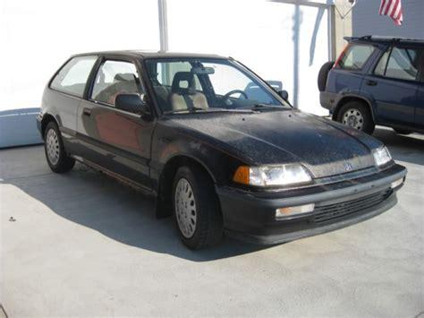 Honda Civic Si Hatchback For Sale by 1990 Honda Civic Si Hatchback For Sale In Fairmont West