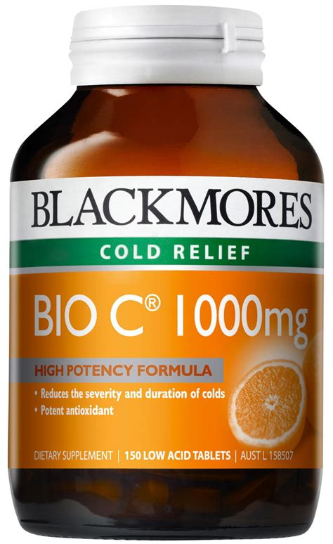Blackmores Vitamin C Buffered 120tablet blackmores bio c 1000mg tablets 150 chempro chemist