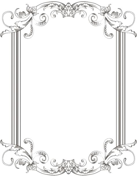Vitrage Bordir custom vintage frame one by kingoftheswingers on deviantart note this is not a free printable